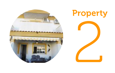 Property 2 - €120,000 Three-bedroom townhouse in Cartagena