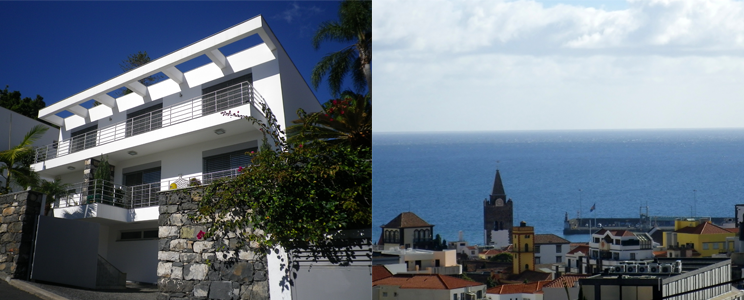 Madeira property and views