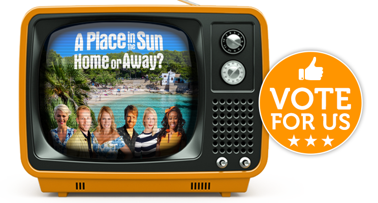 A Place in the Sun Nominated for TV Choice Award!