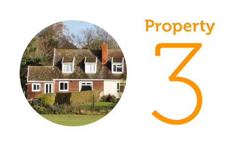 HOME Property 3: Three bedroom chalet bungalow in Barsham