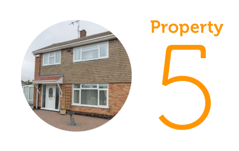 HOME Property 5: Three bedroom house in Lowestoft