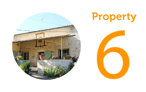 AWAY Property 6: Three-bedroom house in Eymet