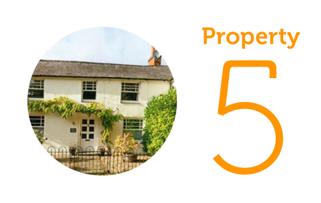 HOME Property 5: Three-bedroom cottage in Shalbourne