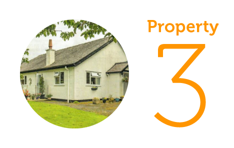 HOME Property 3: Three-bedroom bungalow in Caernafon