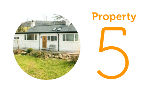 HOME Property 5: Two-bedroom bungalow in Caernafon