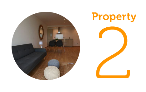 AWAY Property 2: One-bedroom apartment in Paseo Maritimo