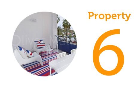 AWAY Property 6: Two-bedroom apartment on Paseo Maritimo