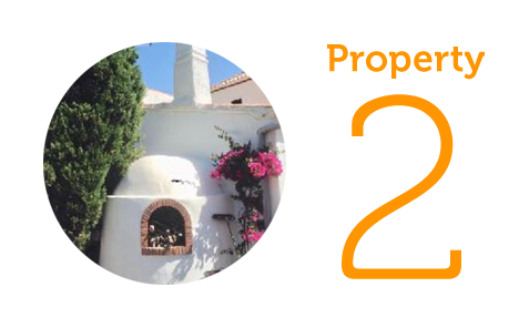 AWAY Property 2: Three-bedroom villa in Velez de Benaudalla