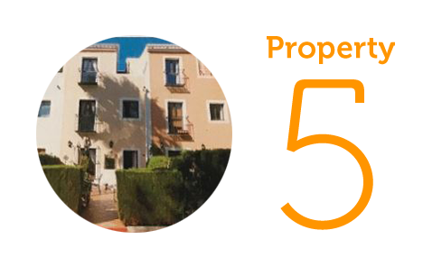Property 5: Three-bedroom townhouse in Sabinillas