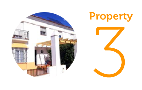 Property 3: Three-bedroom house in Villablanca