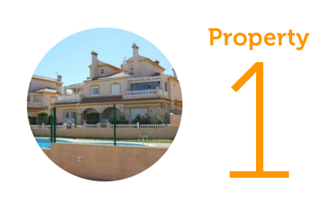 Property 1: Four-bedroom townhouse in La Zenia