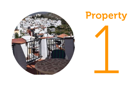 Property 1: Two-bedroom townhouse in Torrox