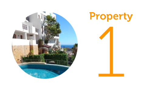 Property 1: Four-bedroom apartment in Mojacar Pueblo