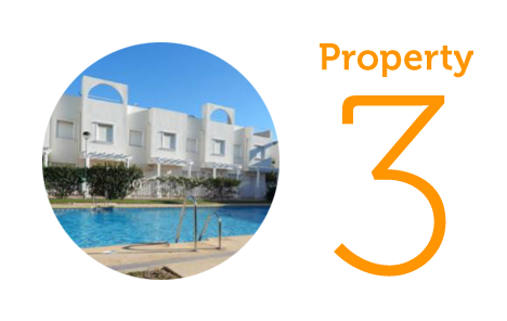 Property 3: Two-bedroom townhouse for sale in Garrucha