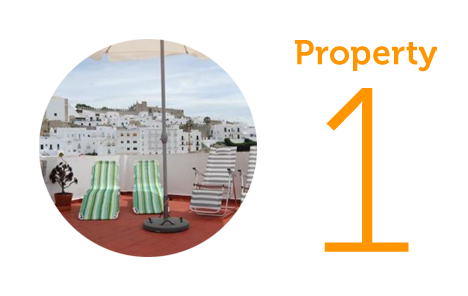 Property 1: Three-bedroom townhouse in Vejer Old Town