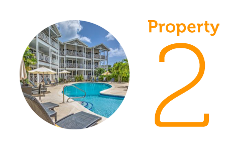 Property 2: Three-bedroom apartment in St. James
