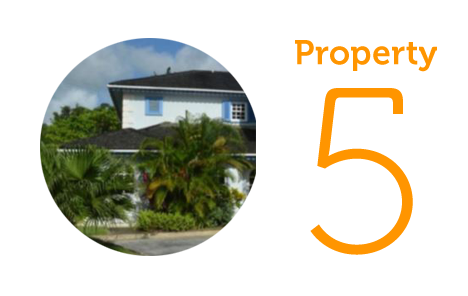 Property 5: Three-bedroom house in St. James