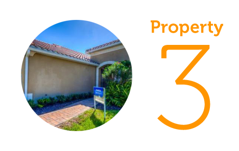 Property 3: Two-bedroom house in Bradenton