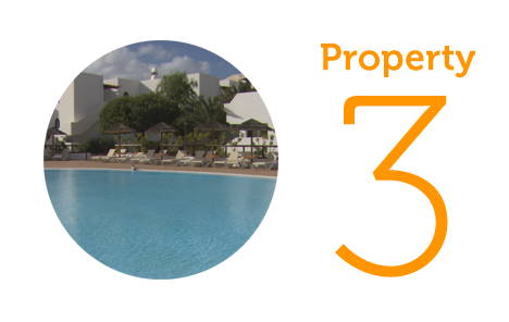 Property 3: Two-bedroom apartment in Costa Teguise (north)