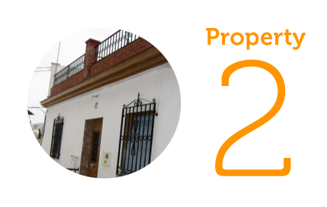 Property 2: Two-bedroom townhouse in Velez Malaga