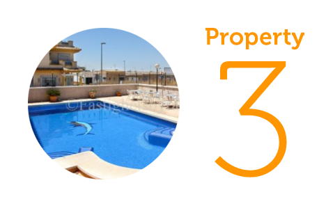Property 3: Two-bedroom apartment in Murcia