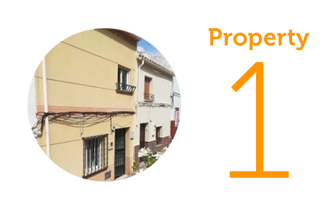 Property 1: Two-bedroom townhouse in Martos