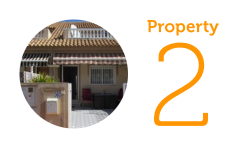 Property 2: Three-bedroom townhouse in Los Alcazares
