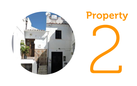 Property 2: One-bedroom townhouse in Canillas de Albaida