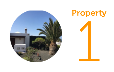 Property 1: Two-bedroom villa in Playa Blanca