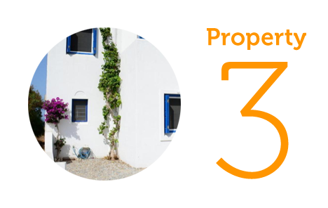 Property 3: Two-bedroom villa in Chora
