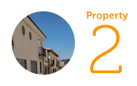 Property 2: Three-bedroom townhouse in Pizarra