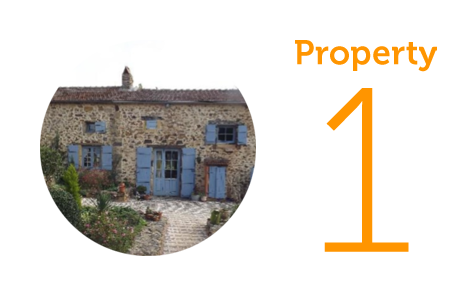Property 1: Four-bedroom house in Monpazier