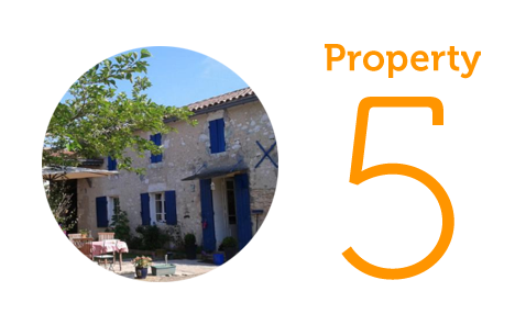 Property 5: Three-bedroom house in Duras