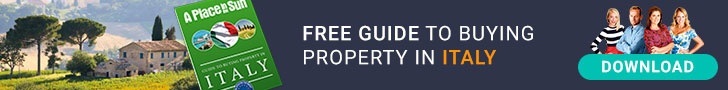 Free buying guide to Italian property