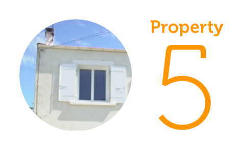 Property 5: Two-bedroom house in Saint Georges-d'Oleron
