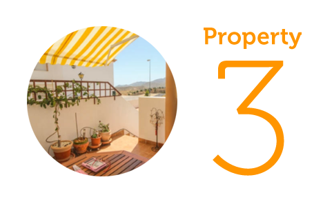 Property 3: Two-bedroom apartment in Turre