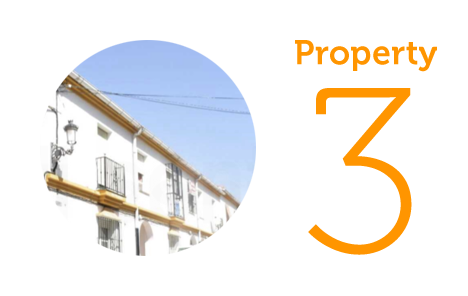 Property 3: Three-bedroom townhouse in Alcaucin