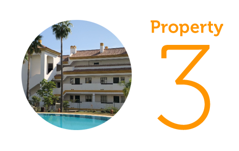 Property 3: Two-bedroom apartment in Calanova Golf