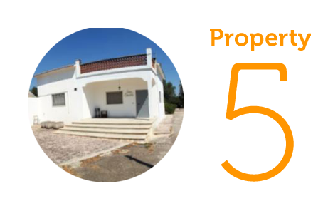 Property 5: Four-bedroom villa in Martina Franca
