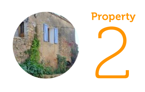Property 2: Two-bedroom village house in Roujan