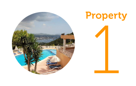 Property 1: Two-bedroom apartment in Siesta