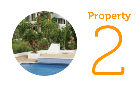 Property 2: Two-bedroom apartment in Siesta