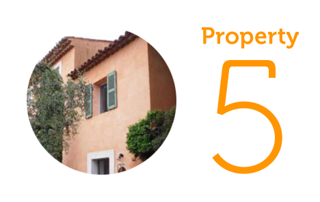 Property 5: Three-bedroom house in Grasse