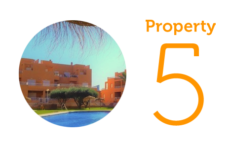 Property 5: Two-bedroom apartment in Mojacar Playa