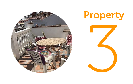 Property 3: Two-bedroom townhouse in Algarrobo