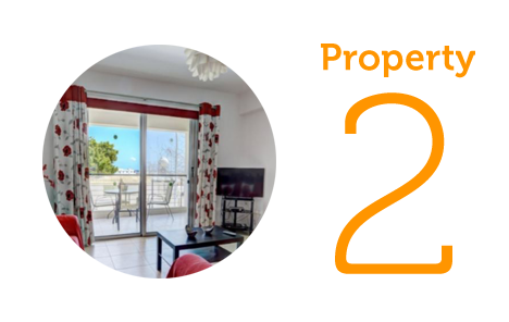 Property 2: Two-bedroom apartment in Kapparis