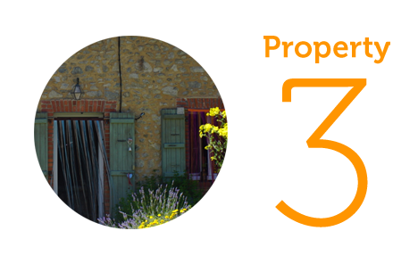 Property 3: Two-bedroom house in Perissac