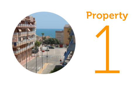 Property 1: Three-bedroom apartment in Guardamar del Segura
