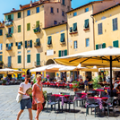 What does Lucca in Tuscany offer to property buyers?