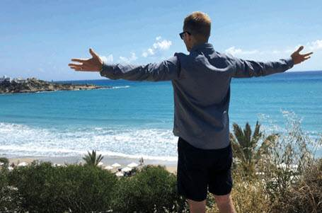 Why Jonnie Irwin loves the beaches of Cyprus link